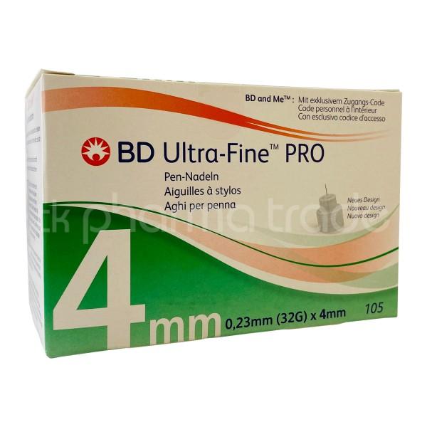 BD Ultra-Fine™ PRO Pen-Nadel 4 mm