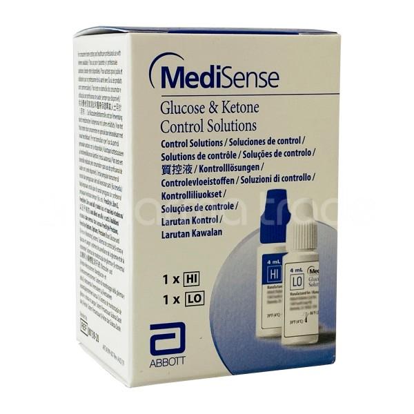 Abbott MediSense Kontrolllösung Glucose + Ketone