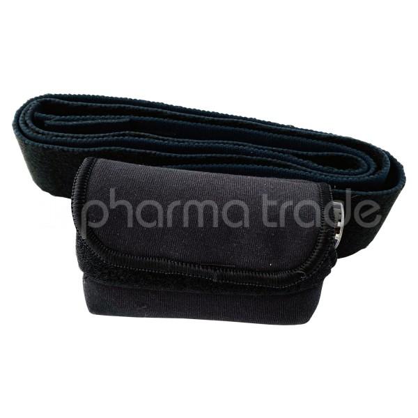 MiniMed Bauchgurt mit Pumpentasche Farbe schwarz