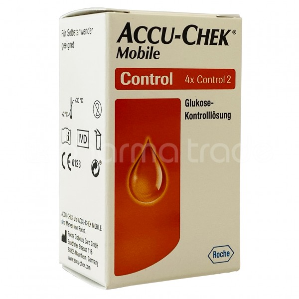 Accu-Chek® Mobile Kontrolllösung