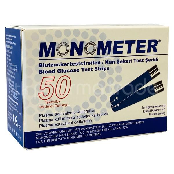 Monometer Blutzuckerteststreifen