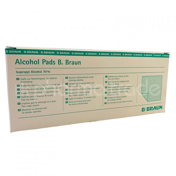 Alcohol pads / Alkoholtupfer
