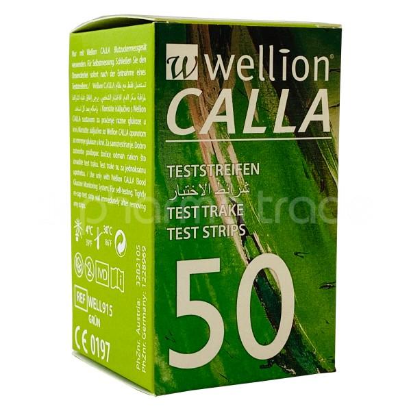 Wellion CALLA Teststreifen