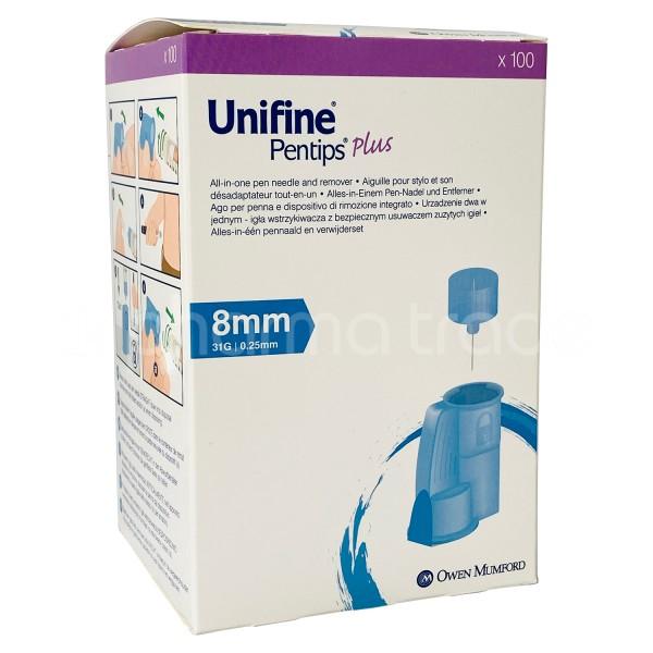 Unifine® Pentips® Plus 0,25 x 8 mm