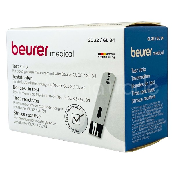 Beurer Blutzuckerteststreifen GL 32 / GL 34 / BGL 60