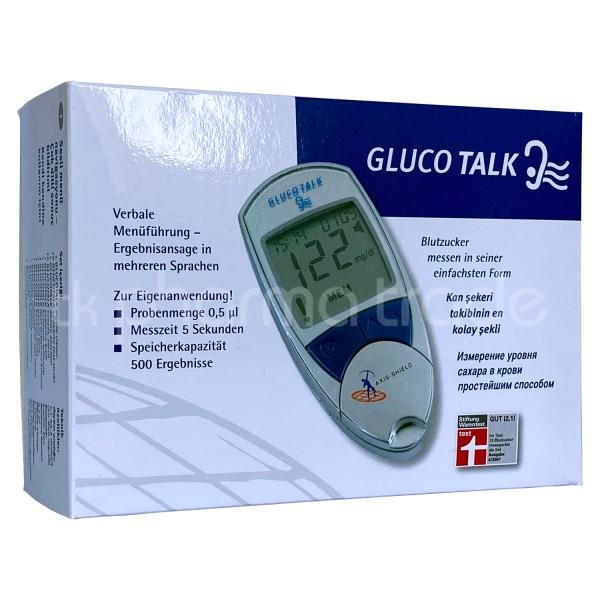 Gluco Talk mit Sprachfunktion